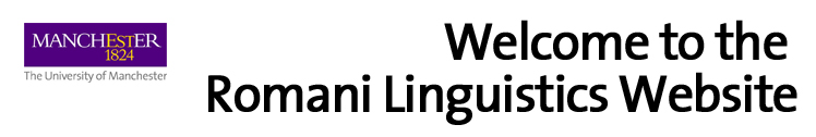 Welcome to the Romani Linguistics Website